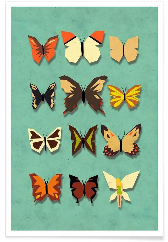 Papillons, A neat collection affiche