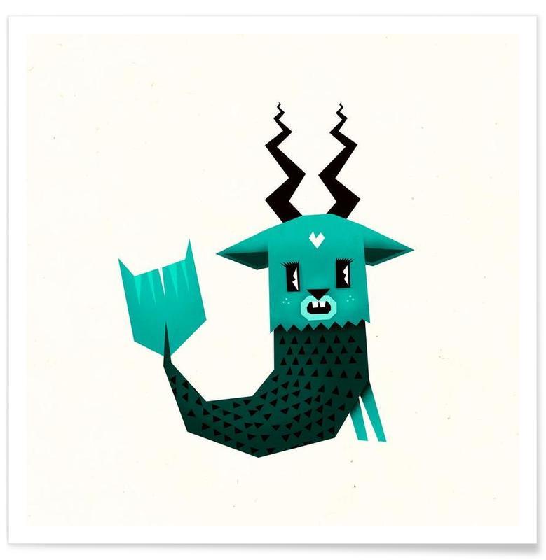 Créatures et hybrides, Capricorn affiche