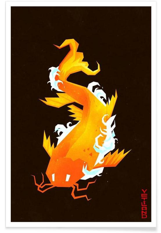 Koi -Poster