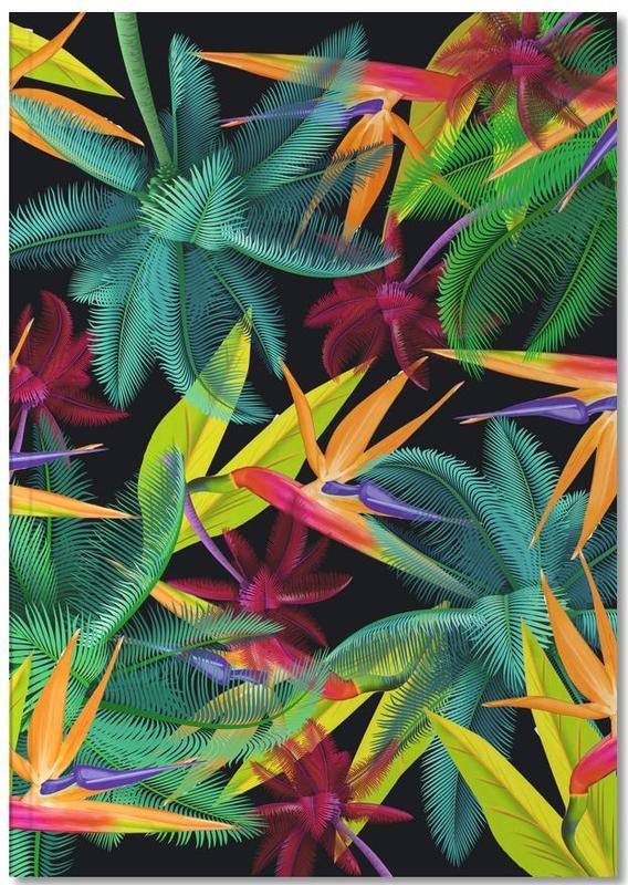 Feuilles & Plantes, Bird of paradise Notebook