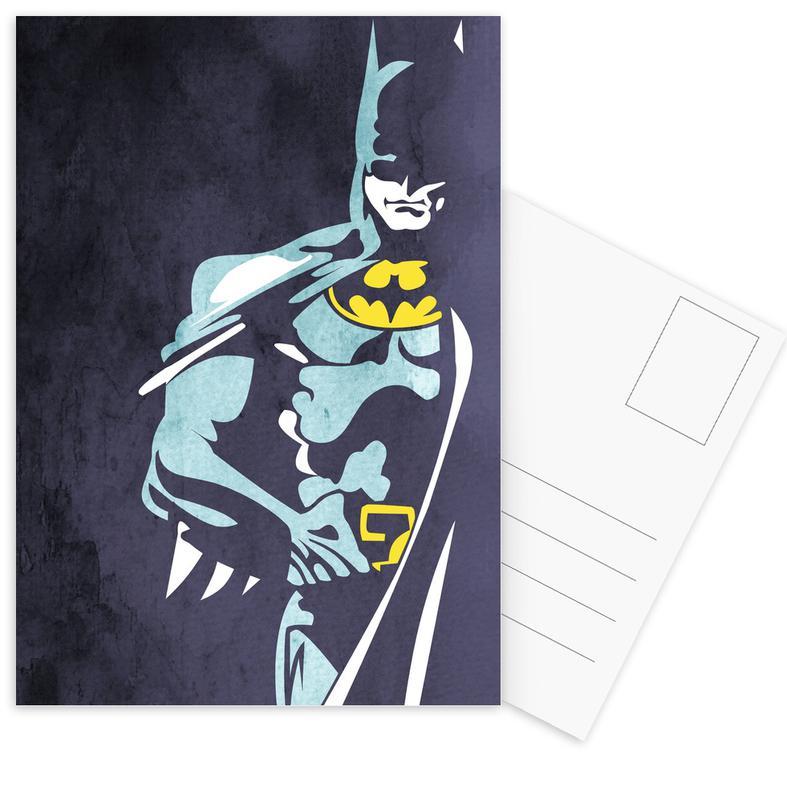 Batman, Batman 3 Postcard Set