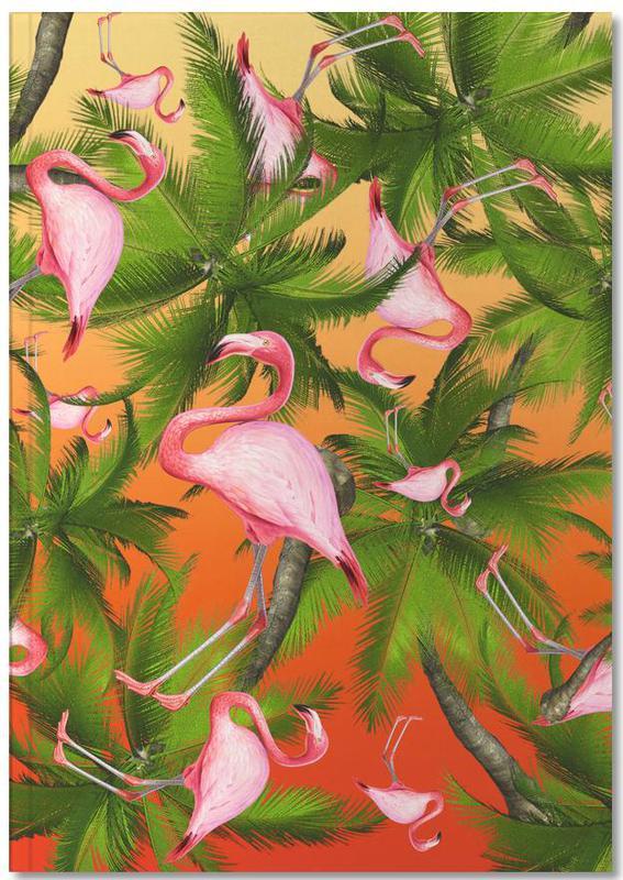 Flamingos, Summertime 2 Notebook