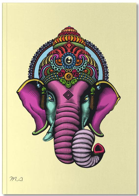 Olifanten, Reizen, India Notebook
