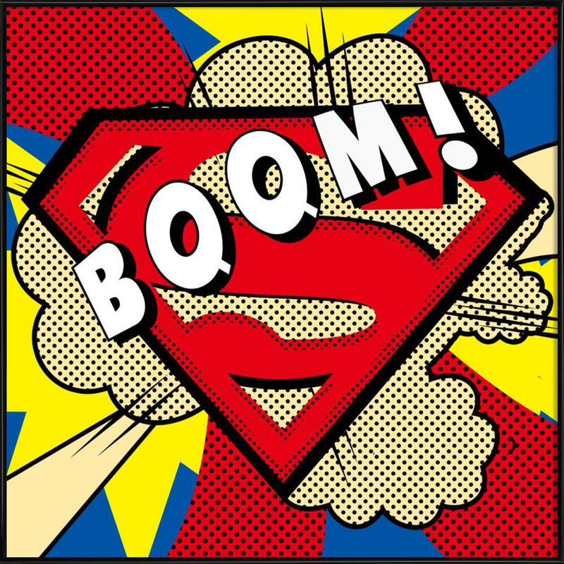 Boom! Framed Poster