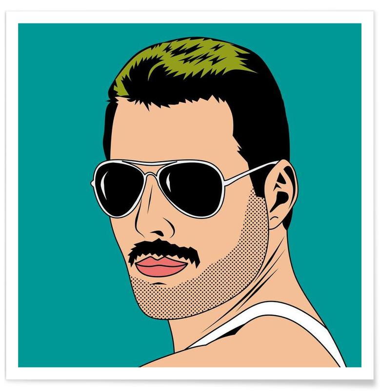 Freddie Mercury affiche