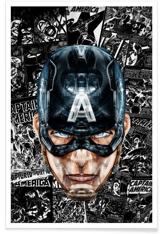 Captain America, Captain poster