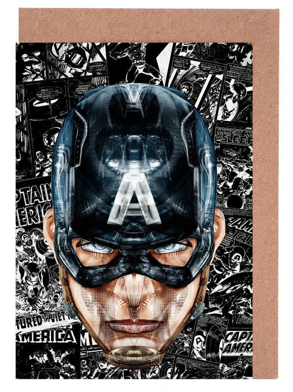 Captain America, Captain wenskaartenset