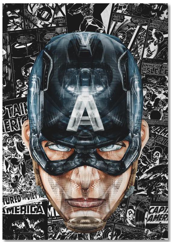 Captain America, Captain -Notizblock