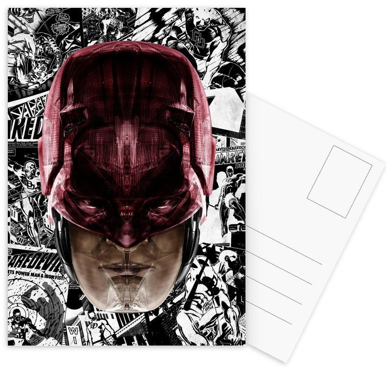 , Red Devil Postcard Set