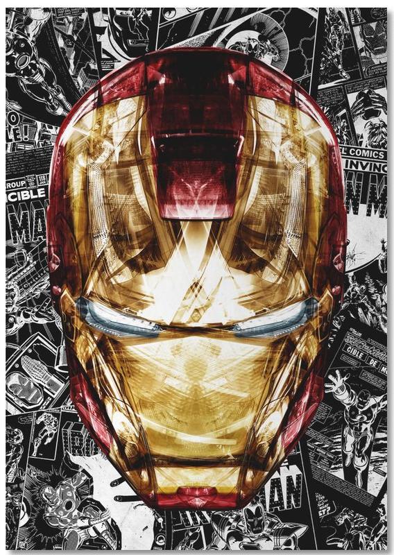 Iron Man, Blood & Gold Notebook