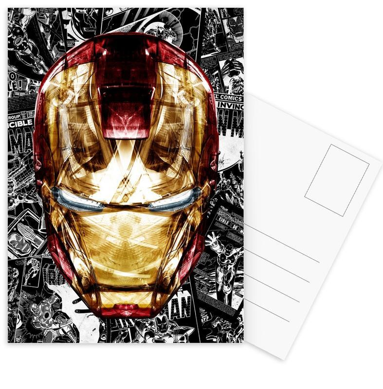 Iron Man, Blood & Gold Postcard Set
