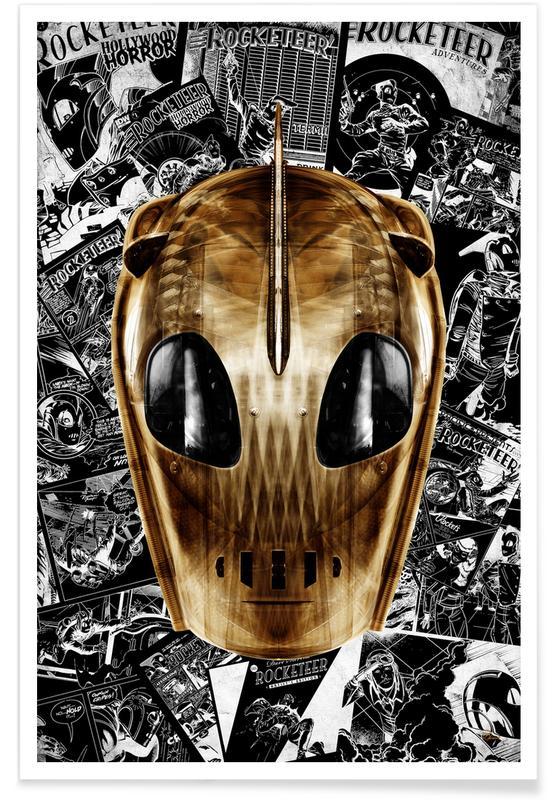 Pop Art, Rocket Man affiche