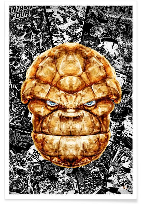 Popart, Stone Man poster