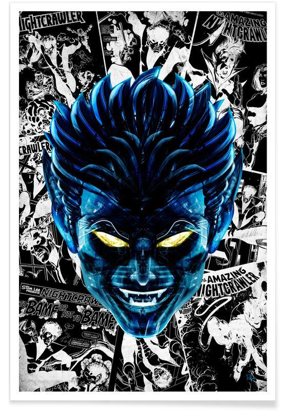 Pop Art, El Diablo -Poster