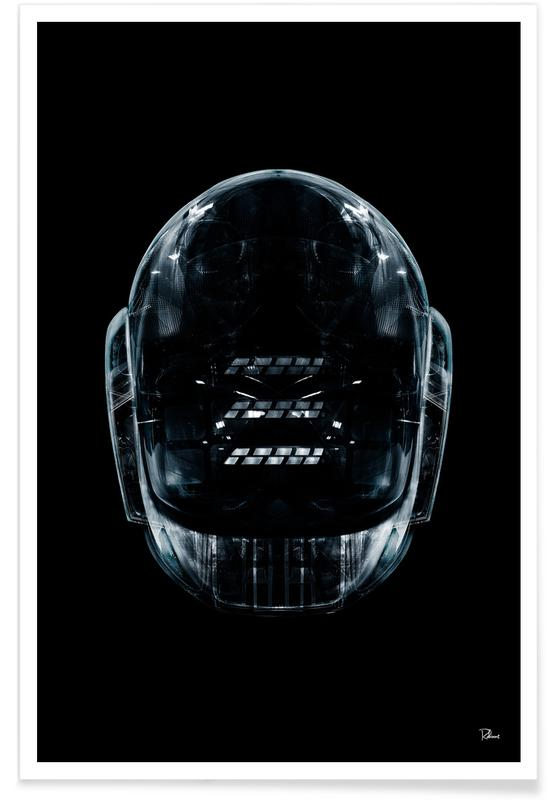 Popart, Daft Black Face 2 poster