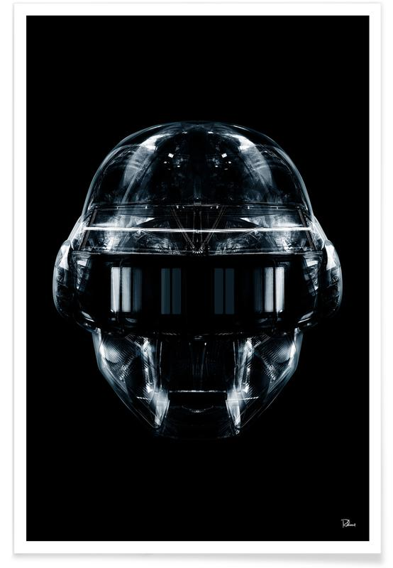 Popart, Daft Black Face 1 poster