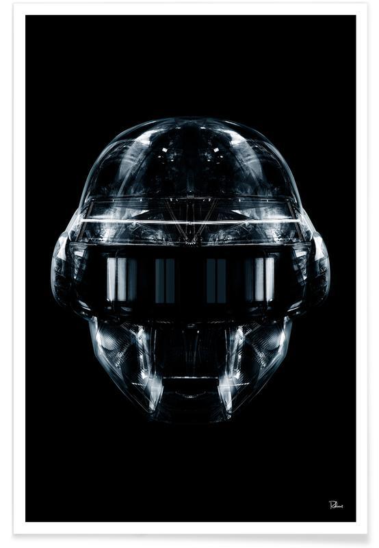 Pop Art, Daft Black Face 1 -Poster