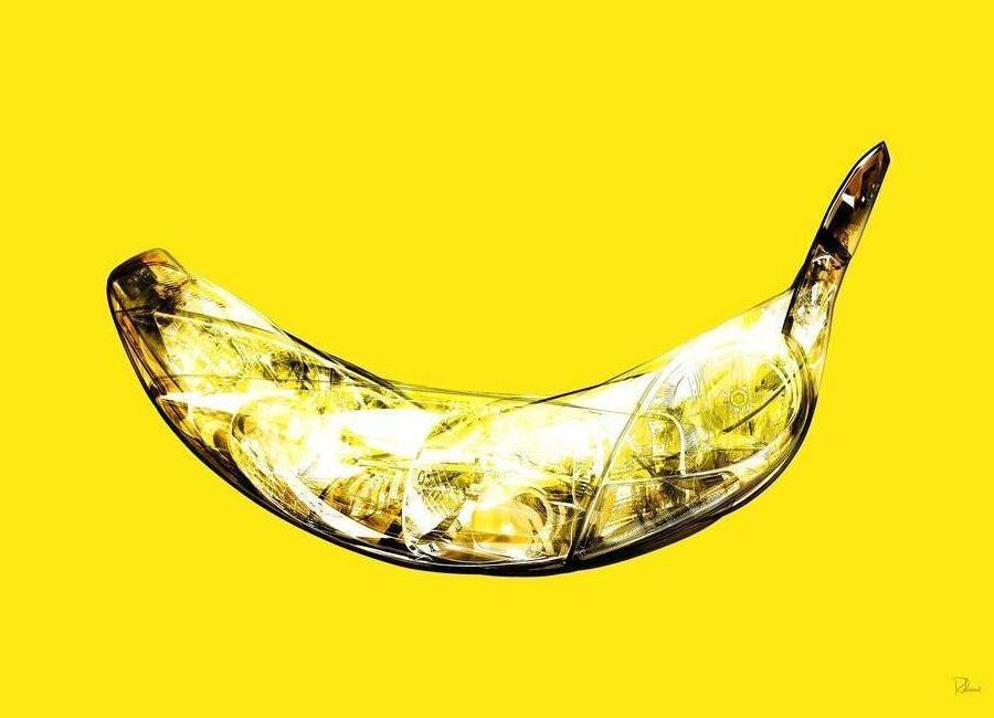 Lambda-Banana toile