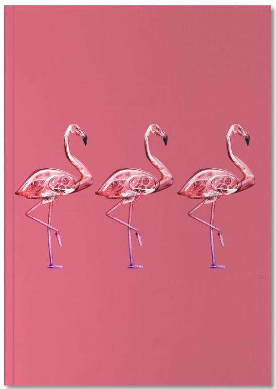 Flamingo's, Flamingo Yellow Notebook