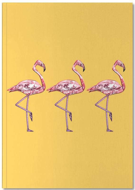 Flamingos, Flamingo Pink Notebook