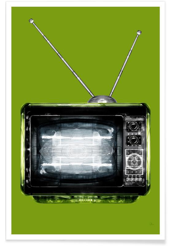 Retro, Religion Cathodique Verte poster