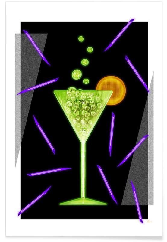 Cocktails, Acid Drink affiche