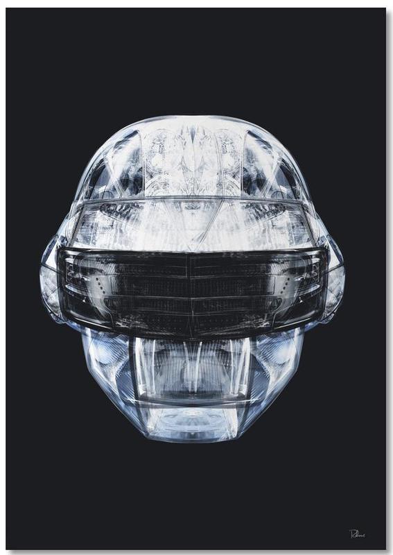 Daft Punk, Popart, Daft Chrome Notebook