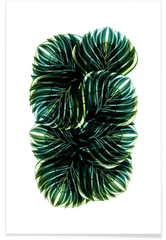 Bladeren en planten, Exotic Art 1 poster