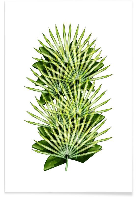 Bladeren en planten, Exotic Art 3 poster