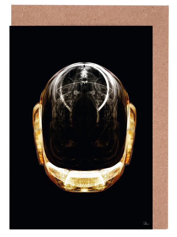 Daft Punk, Popart, Daft Gold wenskaartenset