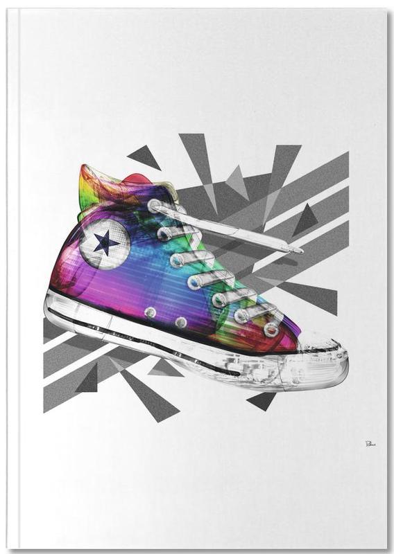 Mode-illustratie, Popart, All Star of My Life Rainbow Notebook