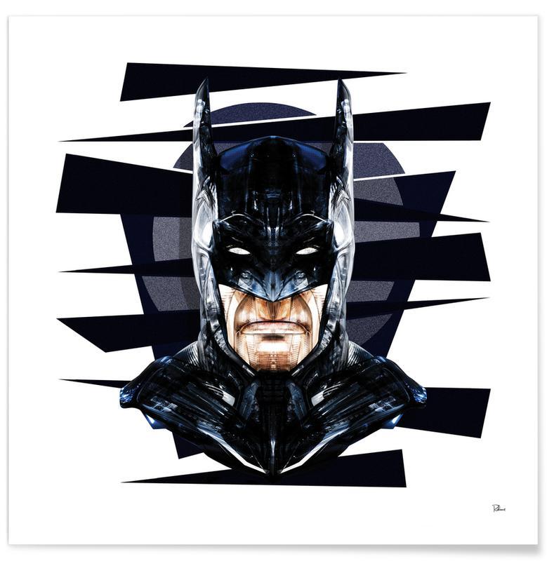 Batman, Popart, Dark Knight poster