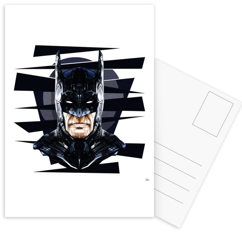 Batman, Pop Art, Dark Knight Postcard Set