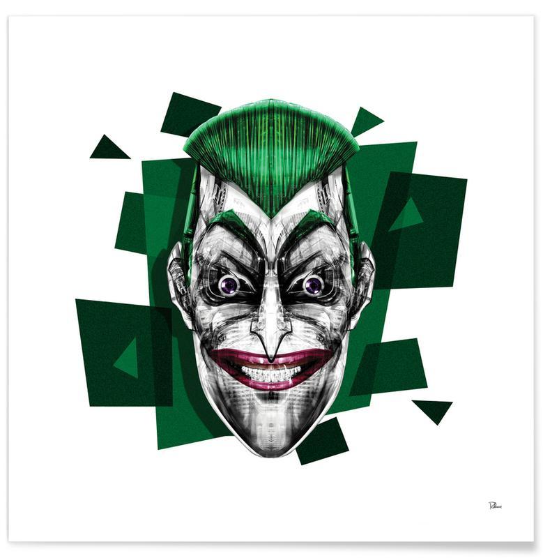 Joker, Pop art, It's a Joke Plakat