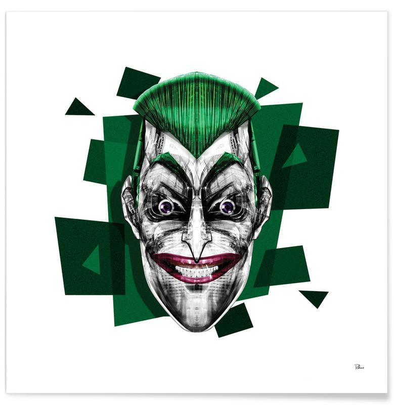 Joker, Pop Art, It's a Joke -Poster