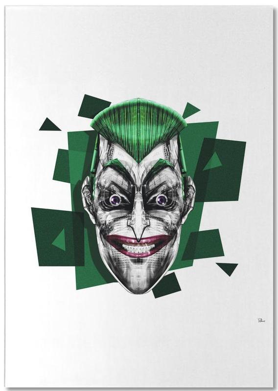 Joker, Pop Art, It's a Joke -Notizblock