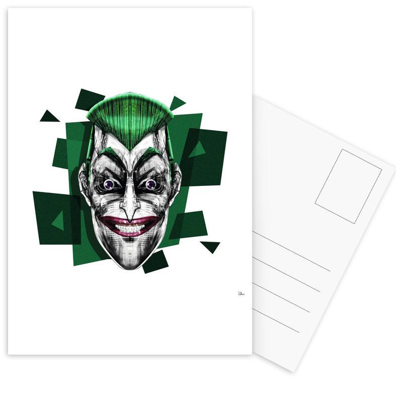 Joker, Pop Art, It's a Joke Postcard Set