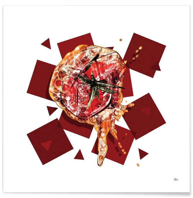 Popart, Tomaten, Remboursez poster