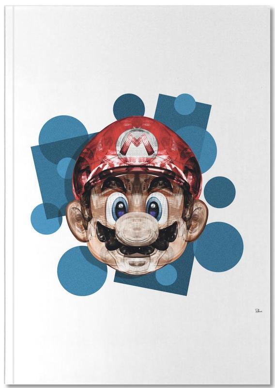 Mario, Popart, Super Plombier Notebook