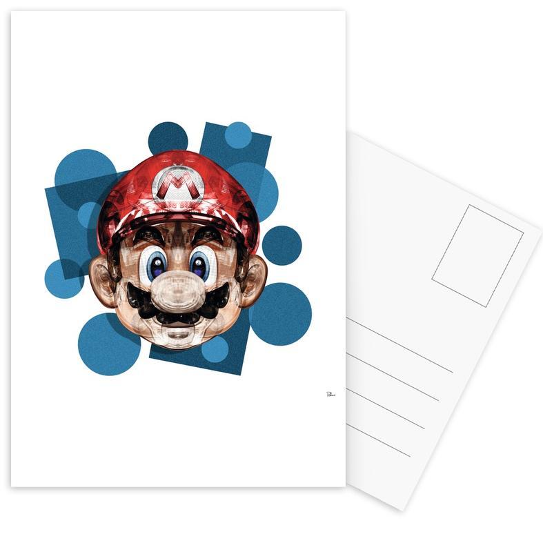 Super Plombier -Postkartenset