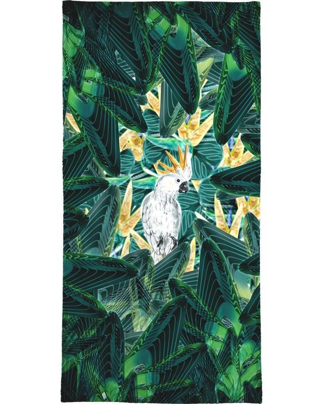 Bladeren en planten, Kanaries, Canope 1 strandlaken