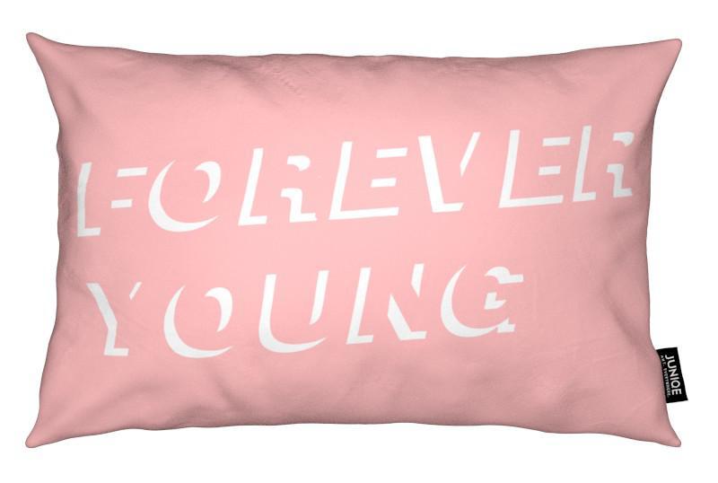 Citations et slogans, Forever Young Pink coussin