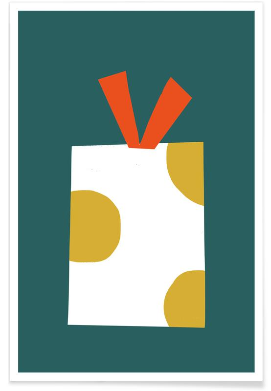 Kerst, Gift poster