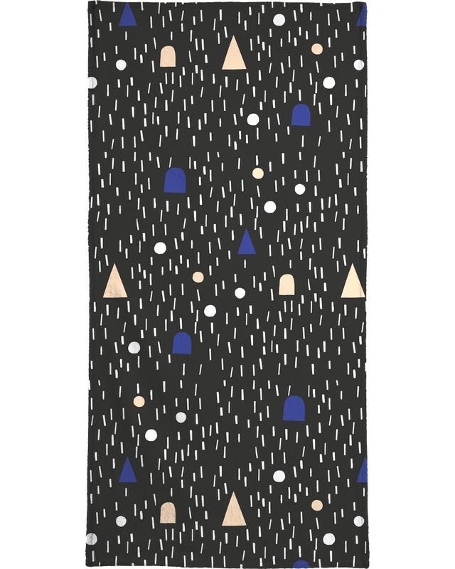 Patronen, Moonscape handdoek