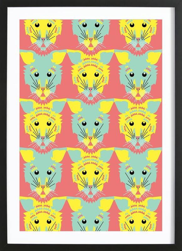 Litters of Kitten Framed Print