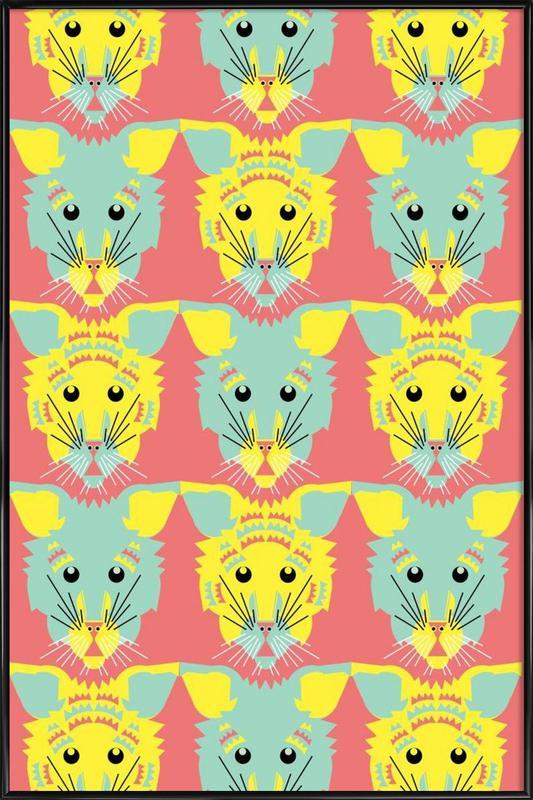 Litters of Kitten Framed Poster