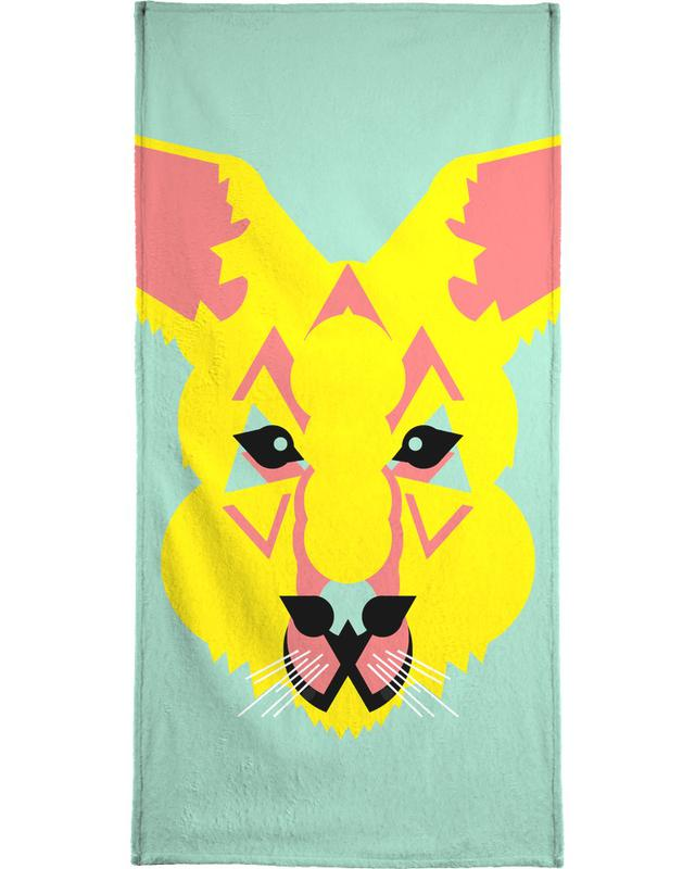 Art pour enfants, Skippy The Bush Kangaroo serviette de bain