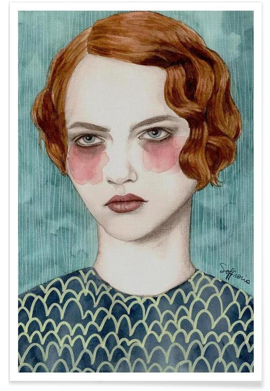 Porträts, Sasha -Poster