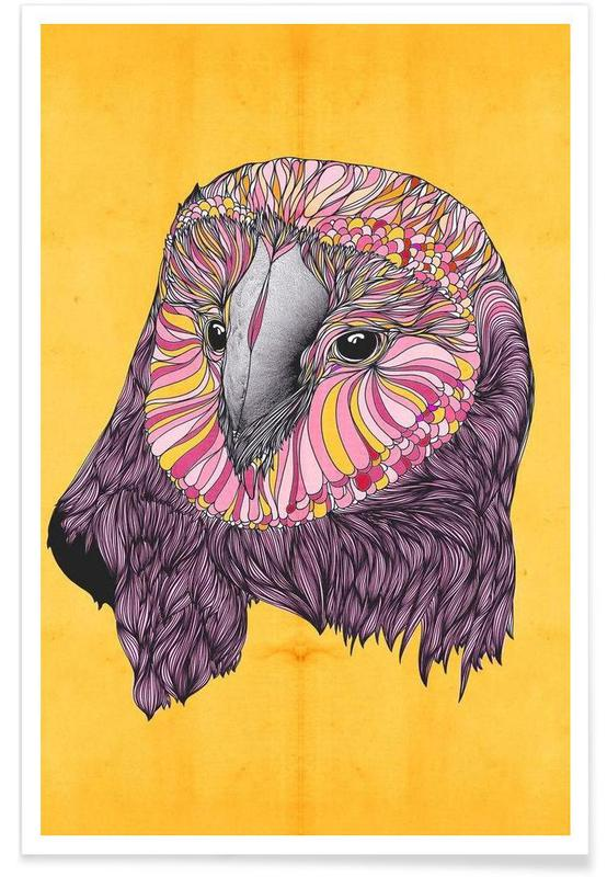 Lovely owl affiche
