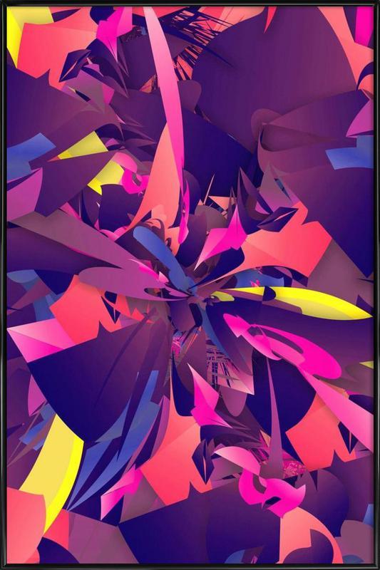 Psychotic -Bild mit Kunststoffrahmen